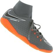 Chuteira Futsal Nike Hypervenom Phantom X 3 Academy DF IC - Adulto
