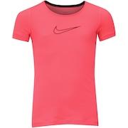Camiseta Nike Pro Top SS Feminina - Infantil