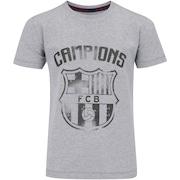 Camiseta Barcelona Brasão - Infantil