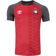 Camisa do Atlético-PR Aquecimento 2018 Umbro - Masculina
