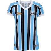 Camisa do Grêmio I 2018 Umbro - Feminina 6854e78a755f5