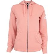 Jaqueta de Moletom com Capuz adidas Ess Solid FZ - Feminina