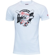 Camiseta New Era Cincinnati Reds Vein Lab - Masculina