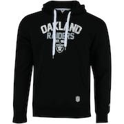 Blusão de Moletom com Capuz New Era Oakland Raiders Core Canguru - Masculino