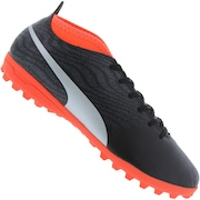 Chuteira Society Puma One 18.4 TF - Adulto
