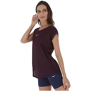 Camiseta Mizuno Fresh New - Feminina