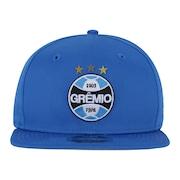 Boné Aba Reta do Grêmio New Era 950 OF SN Primary - Snapback - Adulto 8fd9d517f41