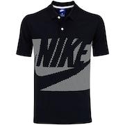 Camisa Polo Nike Sportswear SS Jsy Mix Hbr - Masculina