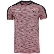 Camisa do Vitória Concentração Atleta 2018 Topper - Masculina