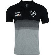 Camisa Polo do Botafogo Viagem Atleta 2018 Topper - Masculina