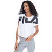 Camiseta Cropped Fila Honey - Feminina