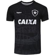 Camisa do Botafogo Aquecimento 2018 Topper - Infantil
