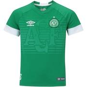 Camisa da Chapecoense I 2018 Umbro - Infantil