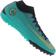 Chuteira Society Nike Mercurial Superfly X 6 Academy CR7 TF - Adulto