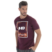 Camiseta HD Watercolor Leaves - Masculina