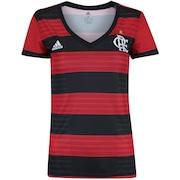 96eaa197fe0 Camisa do Flamengo I 2018 adidas - Feminina
