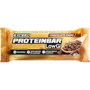 Proteinbar Low Gi Exceed - Chocolate Chips - 1 Unidade - 40g