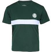 Camiseta do Palmeiras Faixa Meltex - Infantil
