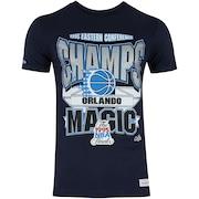 Camiseta Mitchell & Ness Orlando Magic Sportsman Crew - Masculina