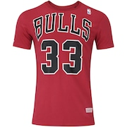 d538f22e8 Camiseta Mitchell   Ness Chicago Bulls Name and Number - Masculina
