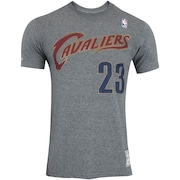Camiseta Mitchell & Ness Cleveland Cavaliers Name and Number - Masculina