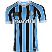 Camisa do Grêmio I 2018 Umbro com Patrocínio - Masculina