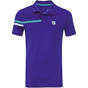 Camisa Polo com Proteção Solar UV Fila Bands - Masculina