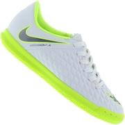 Chuteira Futsal Nike Hypervenom Phantom X 3 Club IC - Infantil a8bc362b736e3
