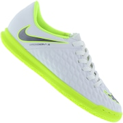 7b4ac99120 Chuteira Futsal Nike Hypervenom Phantom X 3 Club IC - Infantil