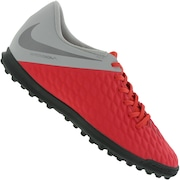 d23763bc3a Chuteira Society Nike Hypervenom Phantom X 3 Club TF - Adulto