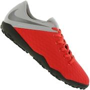 Chuteira Society Nike Hypervenom Phantom X 3 Academy TF - Adulto