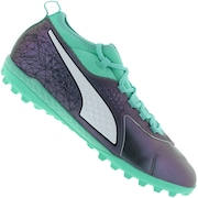 Chuteira Society Puma One 3 IL Lth TF - Adulto