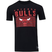 Camiseta New Era Chicago Bulls Lines - Masculina