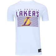 Camiseta New Era Los Angeles Lakers Lines - Masculina