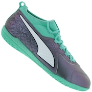 Chuteira Futsal Puma One 3 IL Leather IC - Adulto