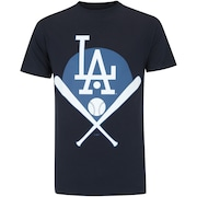 Camiseta New Era Los Angeles Dodgers Blocked Pla - Masculina