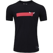 Camiseta New Era Chicago Bulls Versatile B - Masculina
