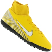 Chuteira Society Nike Mercurial Superfly X 6 Club Neymar Jr. TF - Infantil
