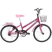 Bicicleta Oxer Cissa - Aro 20 - Freio V-Brake - Feminina - Infantil