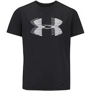 Camiseta Under Armour Big Logo Solid - Infantil