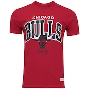 Camiseta Mitchell & Ness Chicago Bulls Team Arch M157B - Masculina