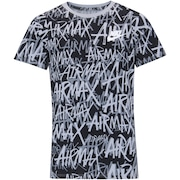 Camiseta Nike Sportswear Airmax Felt AOP - Infantil