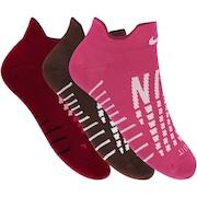 Kit de Meias Sapatilha Nike Dry Everyday Max com 3 Pares - Feminino