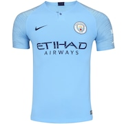 464cec803 Camisa Manchester City I 18 19 Nike - Masculina