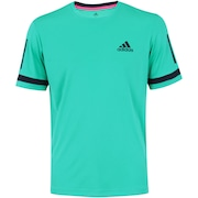 Camiseta adidas Club 3 Stripes - Masculina
