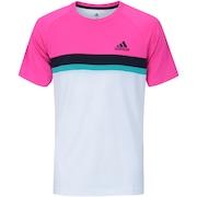 Camiseta com Proteção Solar UV adidas Club Color Block Tee - Masculina