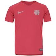 Camisa de Treino Barcelona 18/19 Nike - Infantil