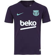 533c66103347b Camisa de Treino Barcelona 18 19 Nike - Infantil