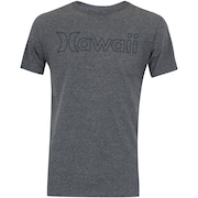 Camiseta Hurley Silk Hawaii Outline - Masculina