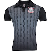 Camisa Polo do Corinthians Dark Side - Masculina